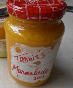 Delicious low carb homemade marmalade (keep in fridge)